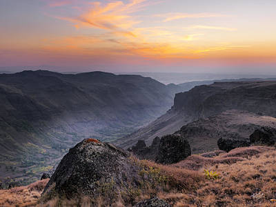 Photograph - Indian Canyon Steens by Leland D Howard