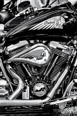 Photograph - Indian Chief Centennial Motorcycle by Tim Gainey