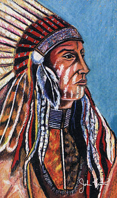 Indian Chief Art Print by John Keaton