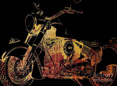 Indian Chief On Brooklin Art Print by Pablo Franchi