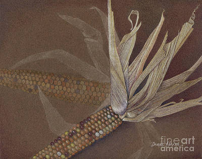 Painting - Indian Corn by Diane Harm