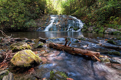 Photograph - Indian Creek Falls by Daryl Clark