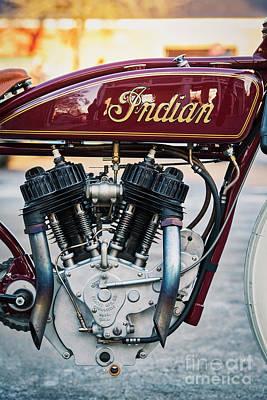 Photograph - Indian Daytona Board Track  by Tim Gainey