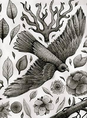 Indian Eagle Art Print