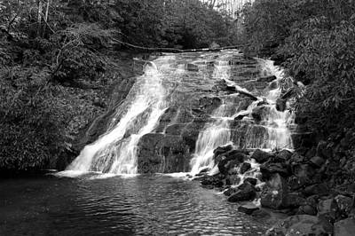 Indian Falls At Deep Creek Art Print by Kathy Schumann