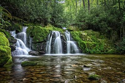 Photograph - Indian Flats Falls by Daryl Clark