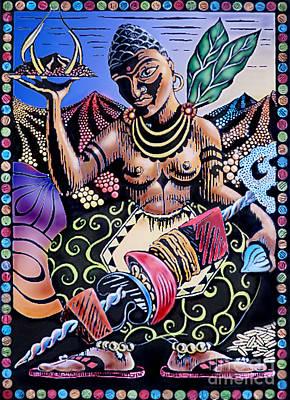 Indian Food Art Print by Debbie  Diamond