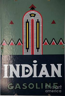 Photograph - Indian Gasoline by David Bearden