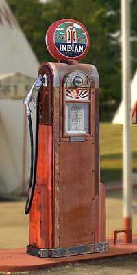 Indian Gasoline - Wayne Pump Art Print