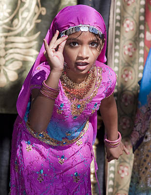 Photograph - Indian Girl by Joel Gilgoff