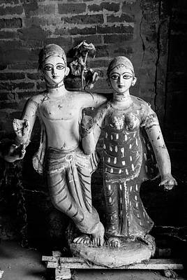 Photograph - Indian God And Goddess In Bishnupur by Ranjay Mitra