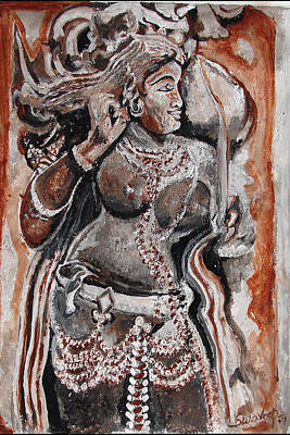 Painting - Indian Heratage-2 by Anand Swaroop Manchiraju
