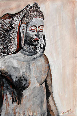 Painting - Indian Heratage-7 by Anand Swaroop Manchiraju