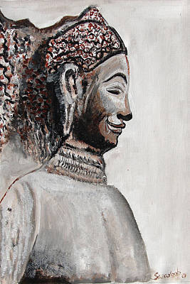 Painting - Indian Heritage .- 9. by Anand Swaroop Manchiraju