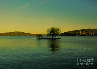 Photograph - Indian Island 1 - Lake Winnipesaukee by Mim White