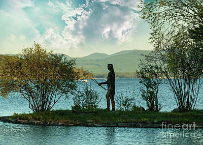 Photograph - Indian Island 2 Lake Winnipesaukee by Mim White