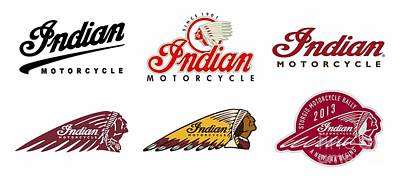 Digital Art - Indian Logos by Steven Parker