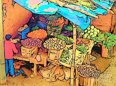 Photograph - Indian Market by Lisa Dunn