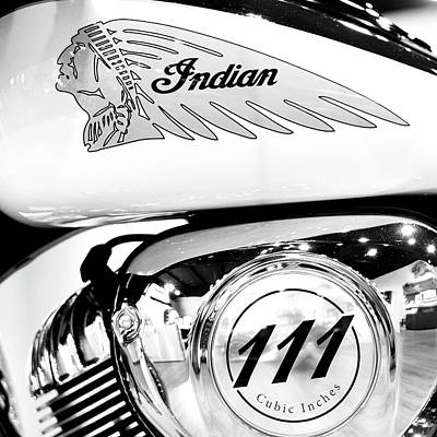Photograph - Indian Moto Sq 081316 by Rospotte Photography