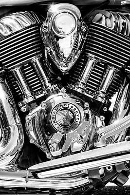 Americana Photograph - Indian Motorcycle by Russ Dixon