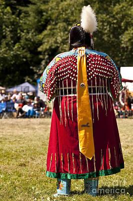 Indian Nation Pow Wow Dancers Art Print by Jim Corwin