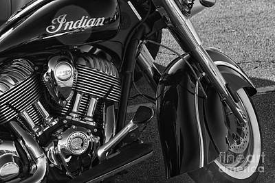 Indian Motorcycle Company Photograph - Indian by Norman Gabitzsch