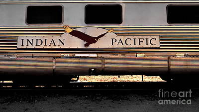Photograph - Indian Pacific by Tim Richards