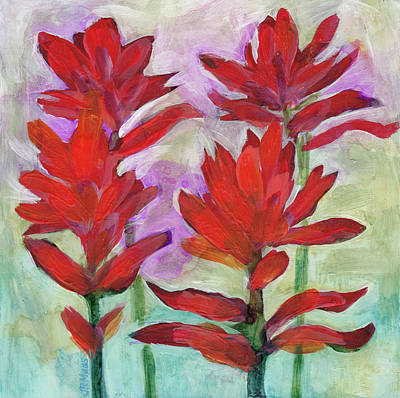 Painting - Indian Paintbrush Again by Julie Maas