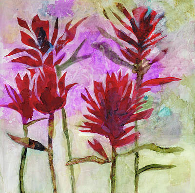 Indian Paintbrush Art Print