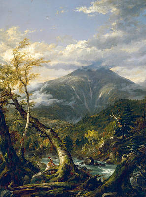 Pass Painting - Indian Pass by Thomas Cole