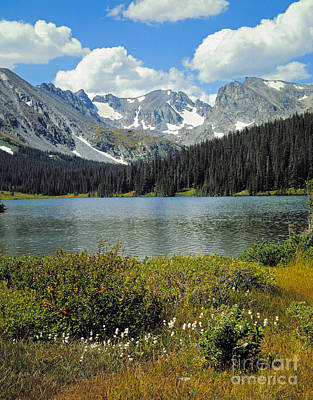 Indian Peaks Wilderness Area, Colorado Art Print by Robert and Jean Pollock
