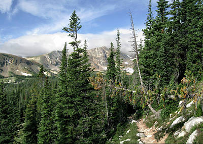 Photograph - Indian Peaks Wilderness by Jim Hill