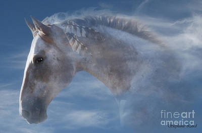 Fantasy Surreal Horse Photograph - Indian Pony by Stephanie Laird