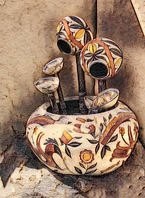 Photograph - Indian Pottery by Anne Sands