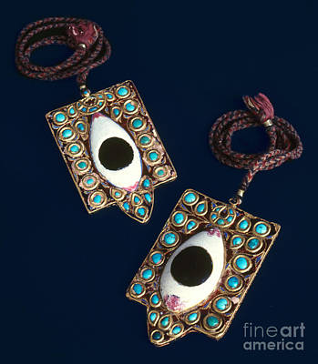 Photograph - Indian Ritual Ornaments by Granger