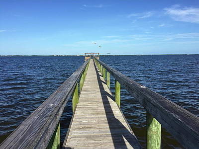 Photograph - Indian River Dock by Denise Mazzocco
