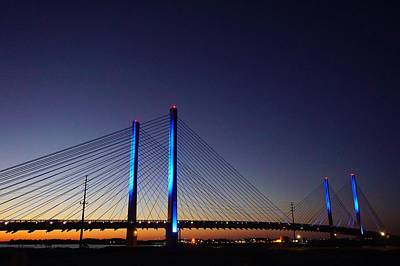 Photograph - Indian River Inlet Bridge by Ed Sweeney