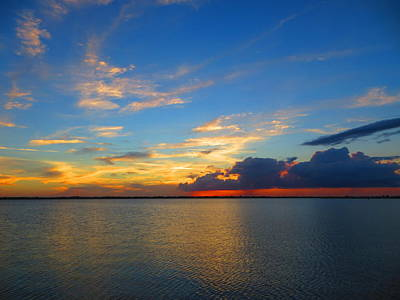 Photograph - Indian River Sunset by Mike Jenkins