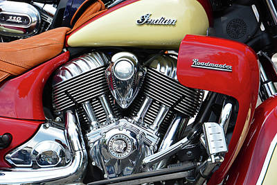Photograph - Indian Roadmaster by Mike Martin