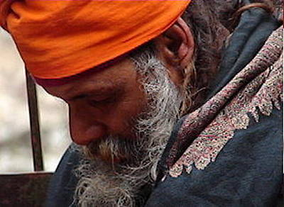 Photograph - Indian Saint-6 by Anand Swaroop Manchiraju