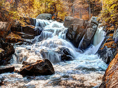 Photograph - Indian Summer Waterfalls by Darleen Stry