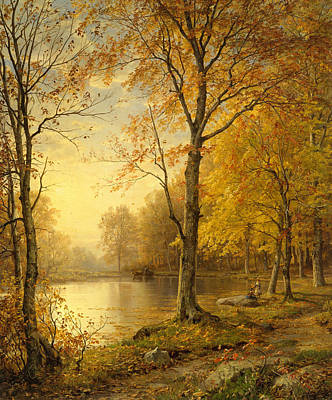 Painting - Indian Summer by William Trost Richards