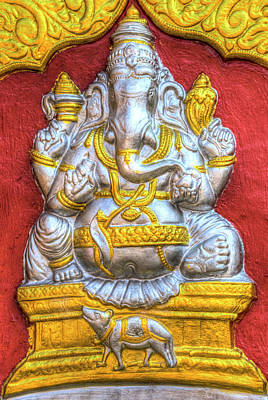 Photograph - Indian Temple Elephant  by David Pyatt