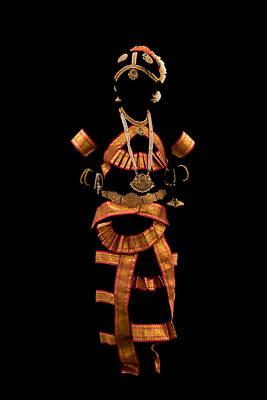 Photograph - Indian -temple Jewellery by Ramabhadran Thirupattur