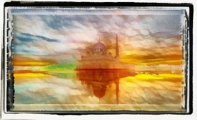 Digital Art - Indian Temple Rhapsody by Mario Carini