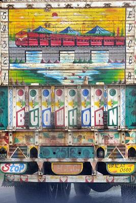 Photograph - Indian Truck Art 2 - Train by Kim Bemis