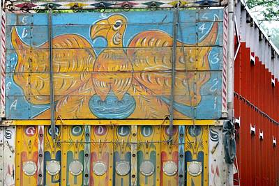 Photograph - Indian Truck Art 6 - Eagle by Kim Bemis
