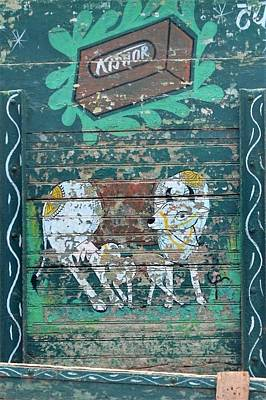 Photograph - Indian Truck Art 7 - Cow And Calf by Kim Bemis