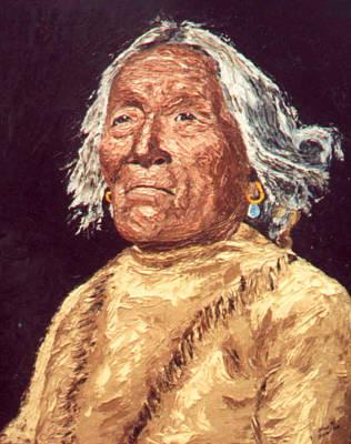 Indian Warrior Art Print by Stan Hamilton