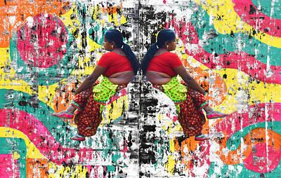 Photograph - Indian Woman Portrait by Sumit Mehndiratta